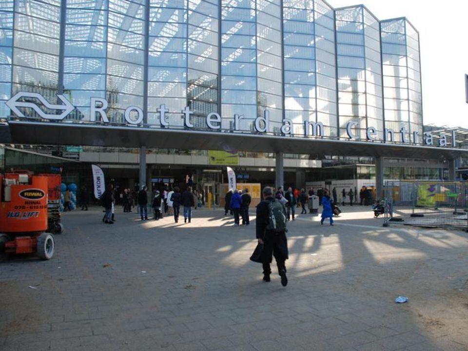 Achterkant Centraal Station