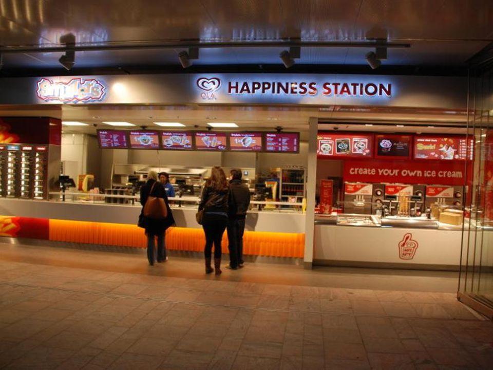 Op het station was het rustig, het was zondag