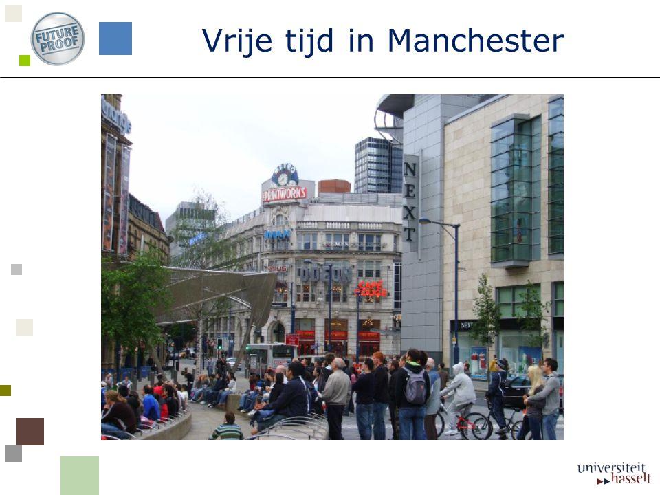 Vrije tijd in Manchester