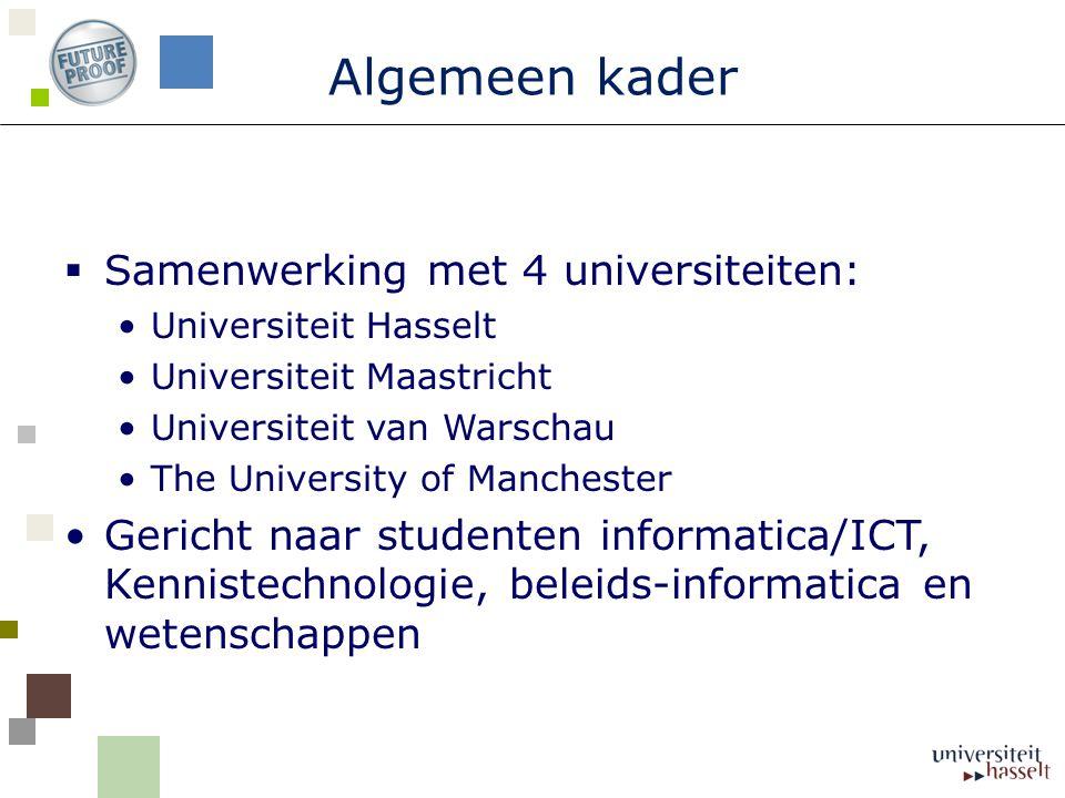 Locatie University of Manchester Manchester University heeft > 10,700 internationale studenten (> Totaal 39 700 students) Betrokken school:  School of Materials