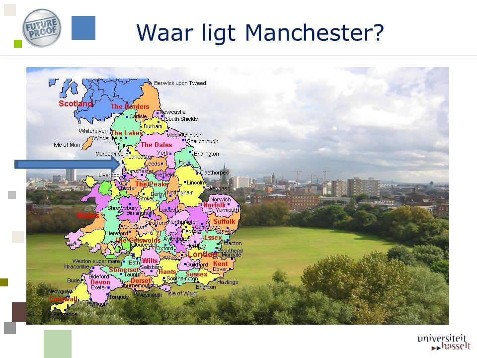 Waar ligt Manchester