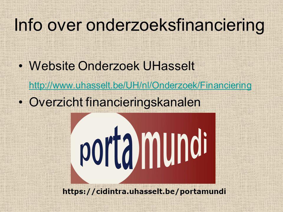 PlanningsfaseSchrijffaseIndienfase 1/04/2007 - 30/07/2007 3 1/01/2007 - 5/04/2007 Interval Description 1/10/2006 - 1/01/2007 30/07/2007 1/01/2007 - 7/06/2007 Planningsfase Schrijffase Indienfase 987654321 Indiendatum Bepaal structuur en doelstellingen Aantal maanden voorafgaand aan indiendatum Beoordeel jezelf,je vakgebied,je onderzoeksomgeving Contacteer mogelijke partners Onderzoek alle mogelijke financieringskanalen Feedback Edit Proofread 0 1.