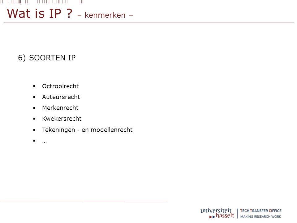 IP aan de UHasselt – eigendomsrechten – Zeer nauwe samenwerking met VIB (raamovereenkomst) Ook afspraken met andere partijen :  Bedrijven  Overheid / subsidieverstrekker  … gevolgen voor eigendomsrechten en return onderzoeker !