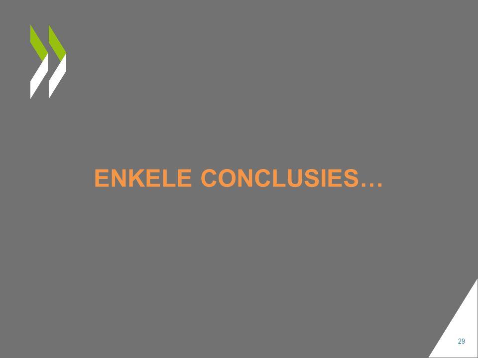 ENKELE CONCLUSIES… 29