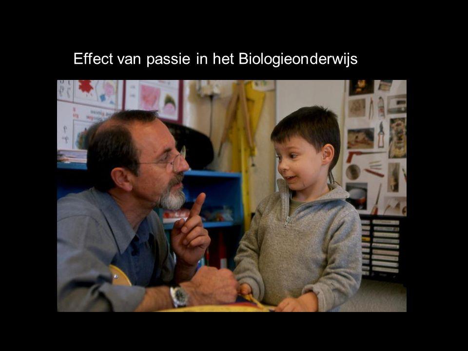 Effect van passie in het Biologieonderwijs