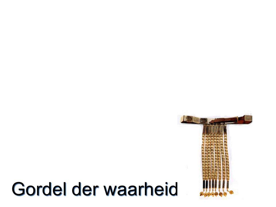 Gordel  Cingulum –Eerst hemd aan, gordel houdt bijeen –Gordel als eerste.