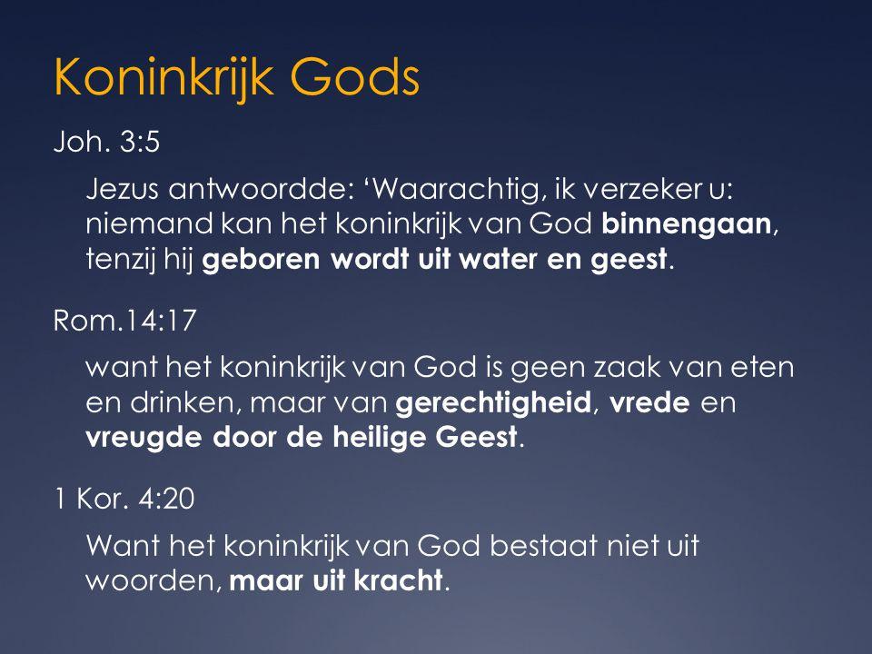 Koninkrijk Gods Joh.