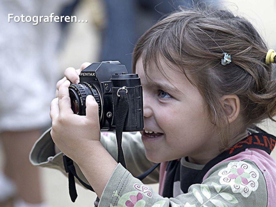 Fotograferen…