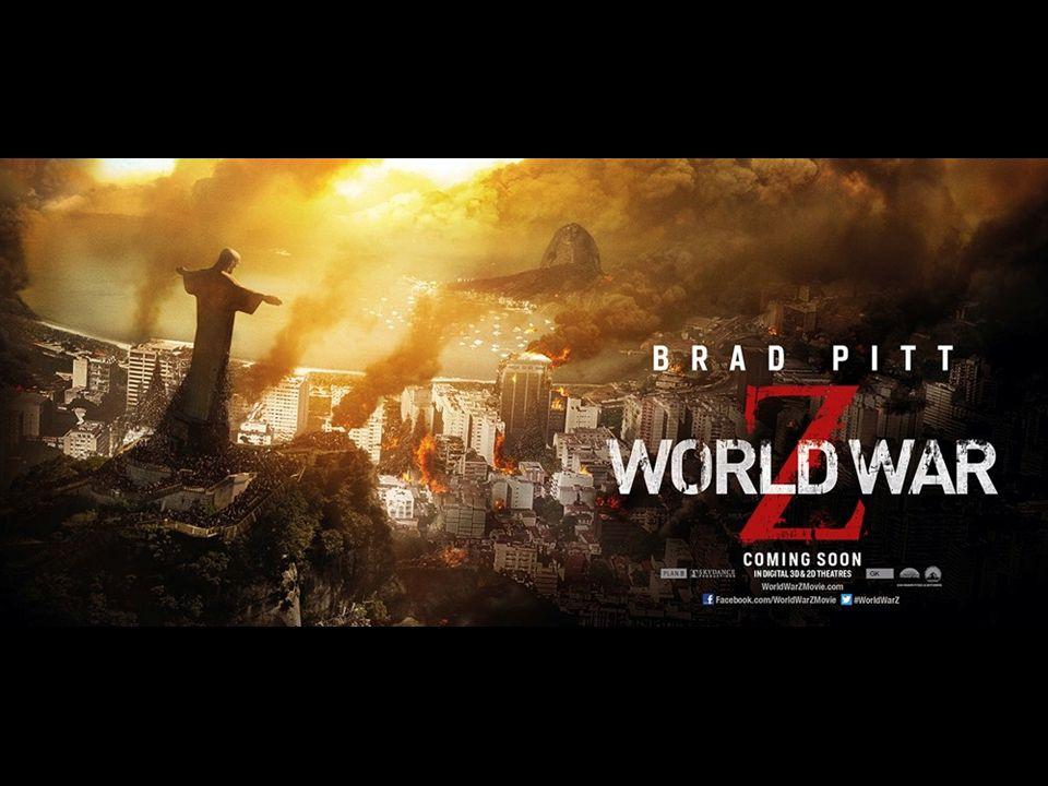 Worldwar Z (the movie) Zombie films als 'sign of the times' Wat is een zombie – Levende doden – Geen 'mens' meer dus tot alles in staat – Niets te verliezen, ze zijn al dood – Zeer besmettelijk … Gelukkig ben jij nog geen 'zombie', toch?!