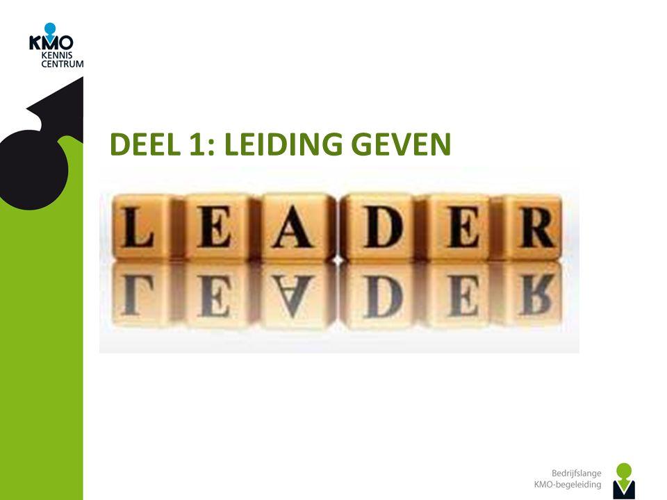 DEEL 1: LEIDING GEVEN