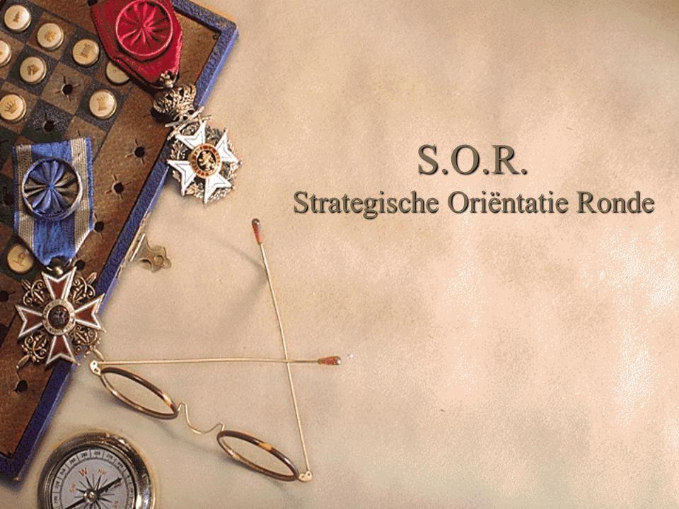 S.O.R. Strategische Oriëntatie Ronde