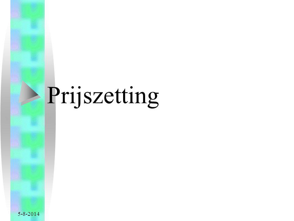 5-8-2014 Prijszetting