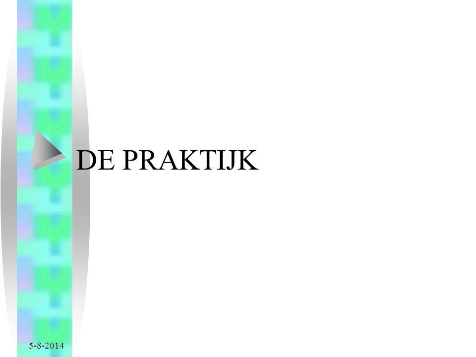 5-8-2014 DE PRAKTIJK