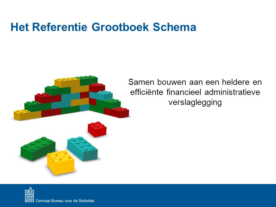Het Referentie Grootboek Schema Samen bouwen aan een heldere en efficiënte financieel administratieve verslaglegging