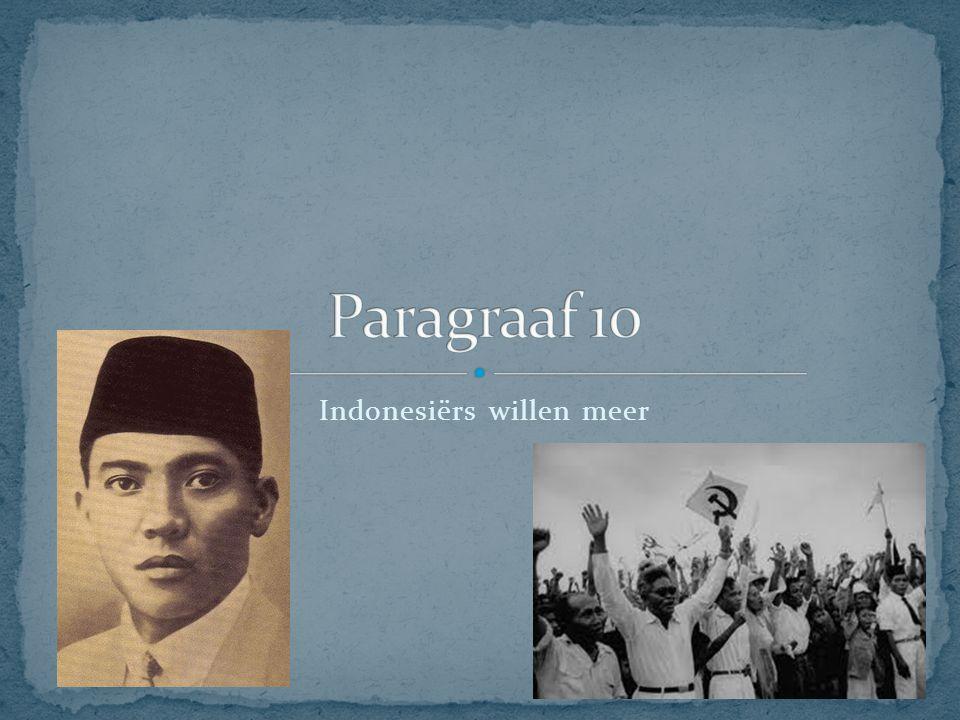 Indonesiërs willen meer
