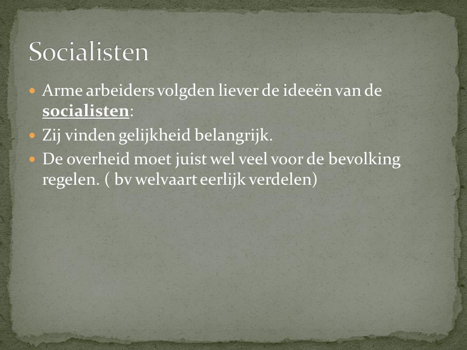 Belangrijke leider: Ferdinand Domela Nieuwenhuis.