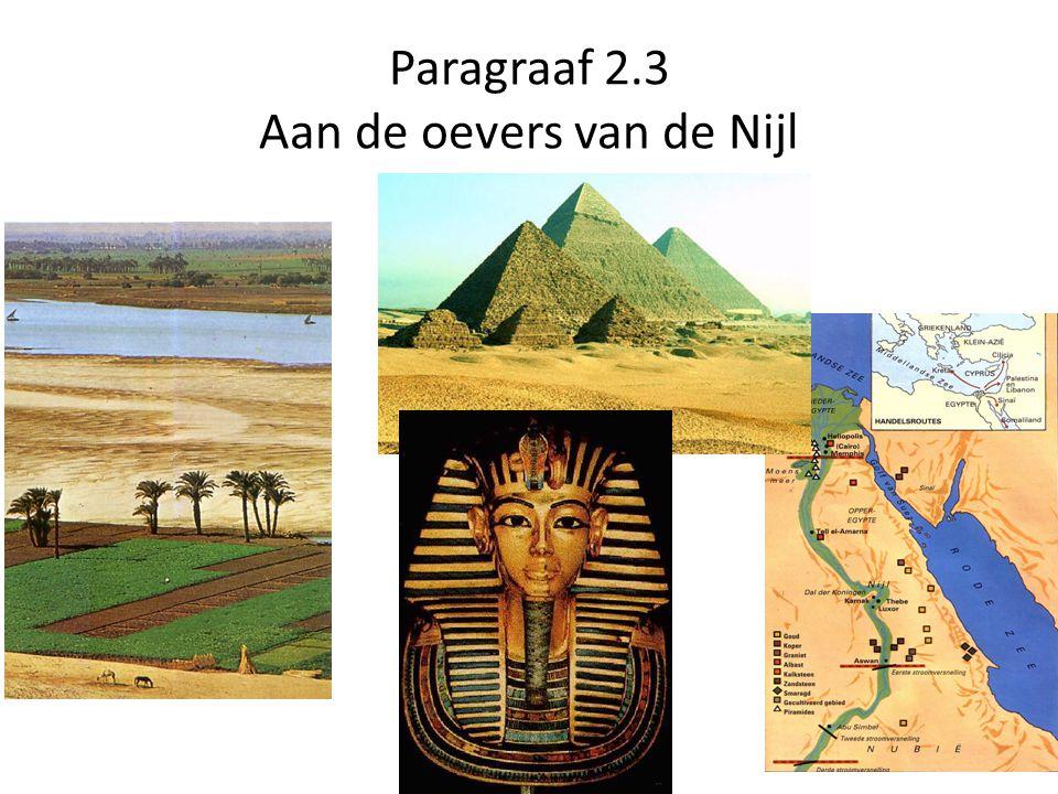 Ontstaan Egypte 4000 v.Chr. werd het te droog in de Sahara voor landbouw.