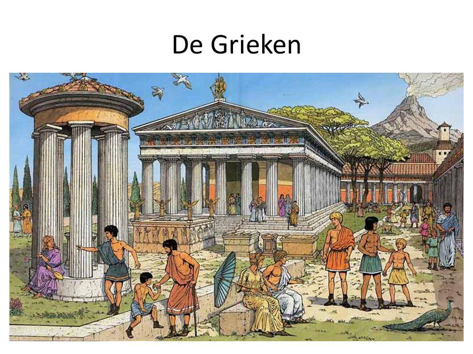 Sparta en Athene Er waren veel verschillen in rijkdom en macht in de stadstaten.