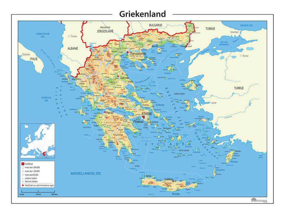 Handel en ambachten In Griekenland ontstaan dorpen.