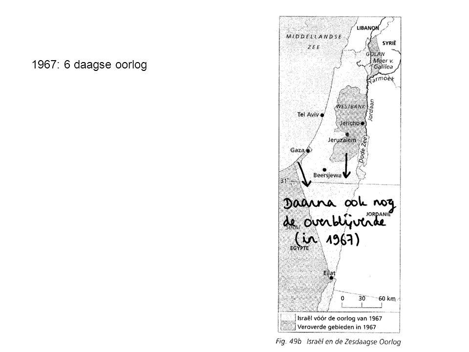 1967: 6 daagse oorlog