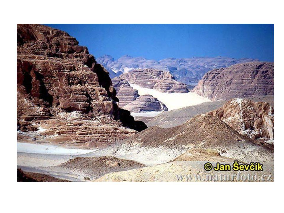 Nubische woestijn Libische woestijn Sinai Arabische woestijn