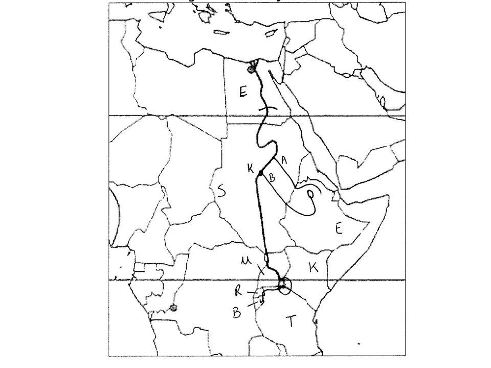 ASWAN: 85% van het water afkomstig van de Blauwe Nijl Ethiopie = watertoren van Egypte