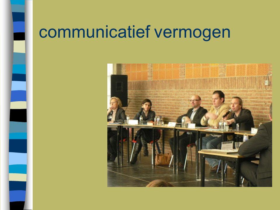 communicatief vermogen
