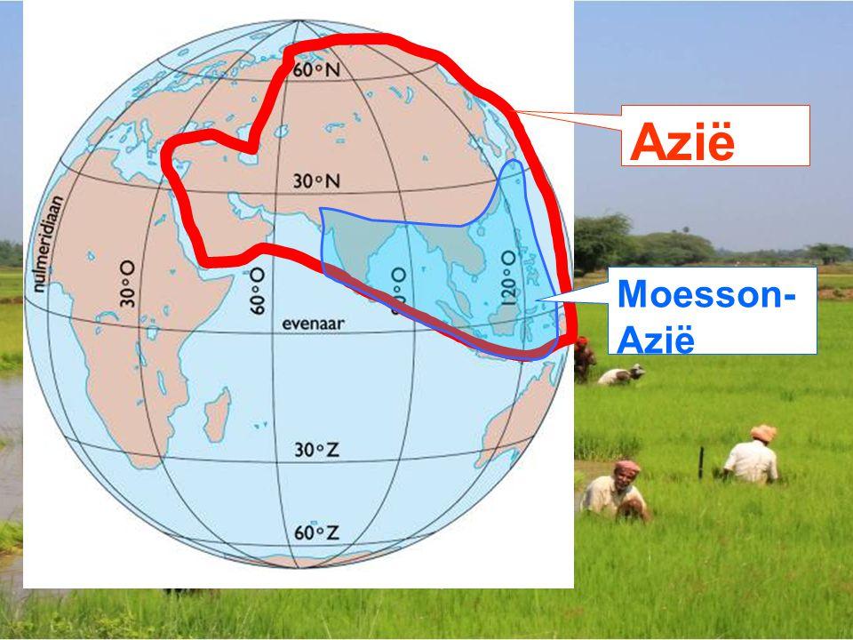 Moesson- Azië Azië