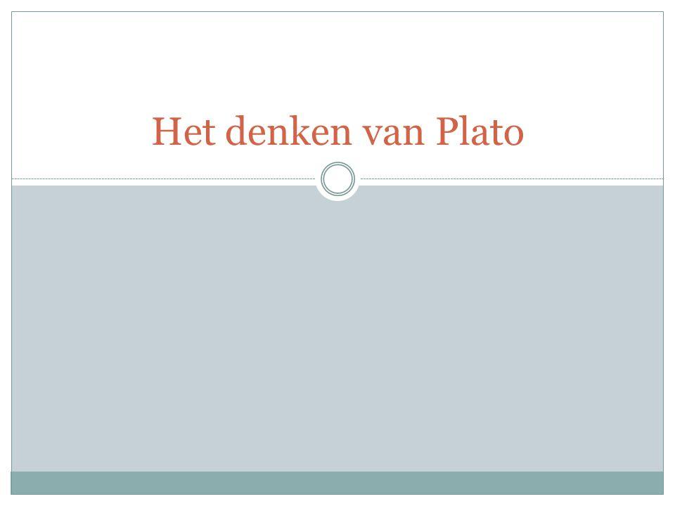 Het denken van Plato