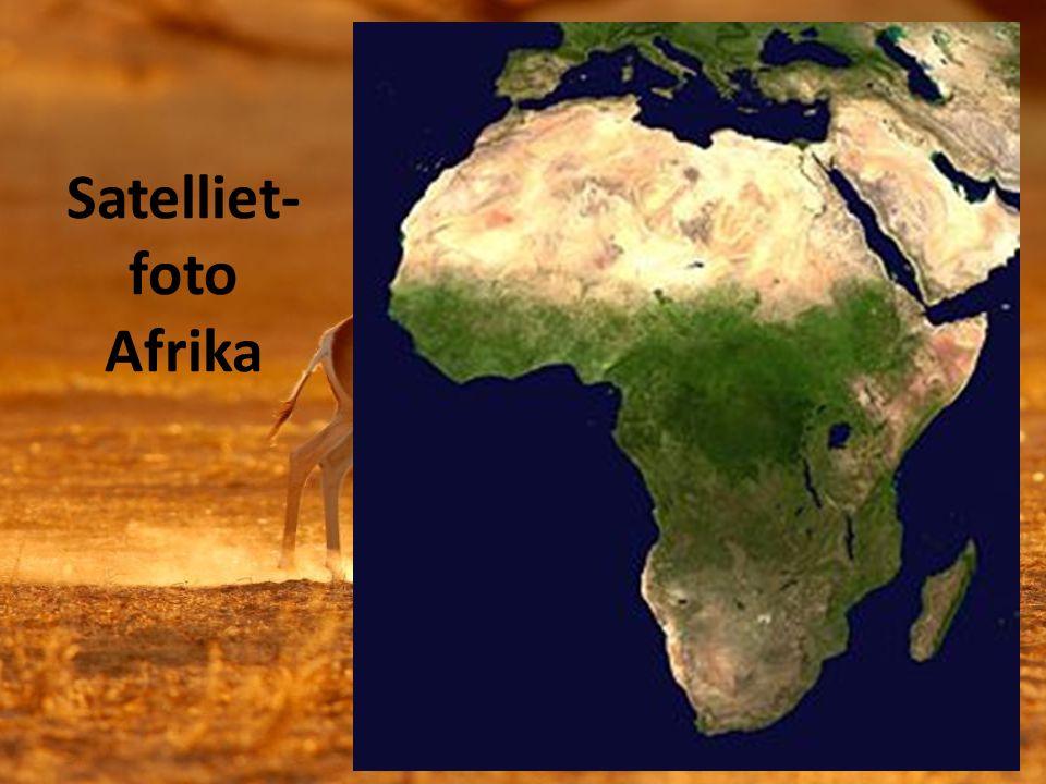 Satelliet- foto Afrika