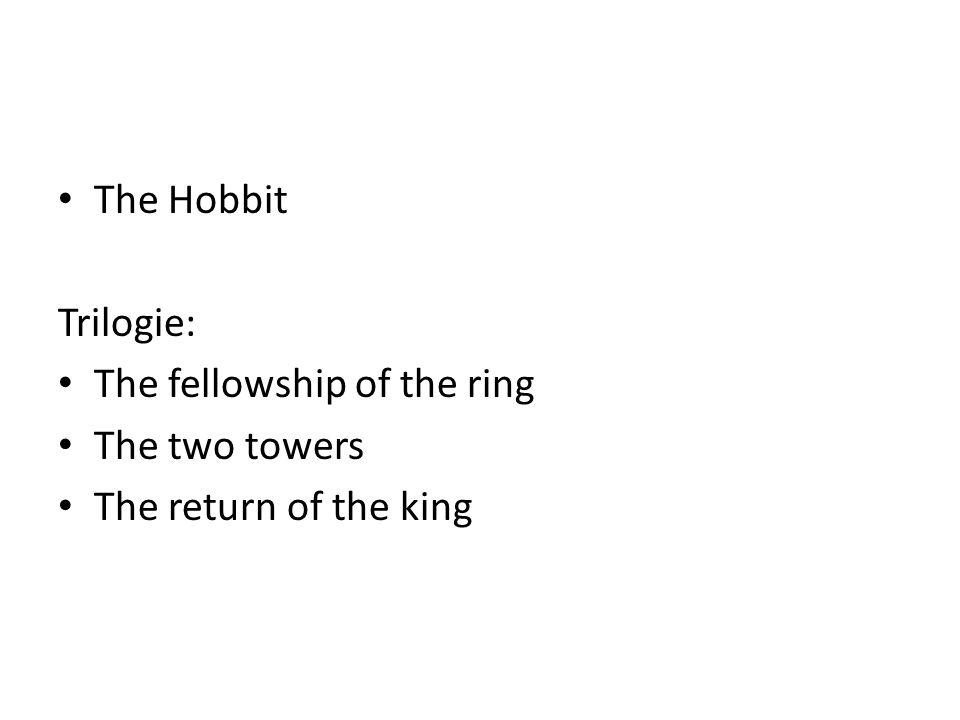 'rings' 3 voor de elfen 7 voor de dwergen 9 voor de mensen (de koningen) 1 om alle andere ringen te regeren het kwade Deze ring werd gecreëerd door Sauron, de Zwarte Heerser, in het vuur van de Doemberg.