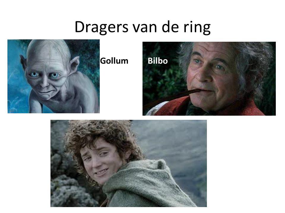Dragers van de ring Gollum Bilbo