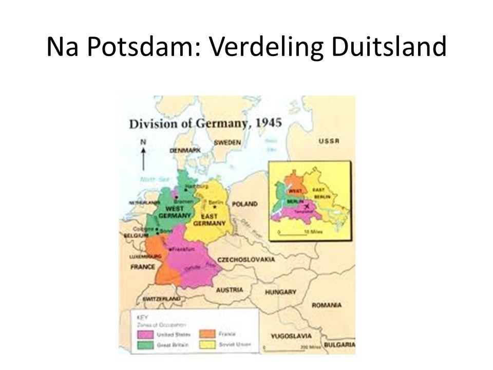 Na Potsdam: Verdeling Duitsland
