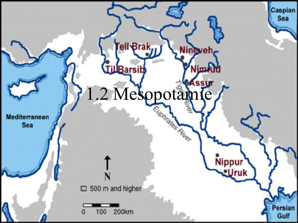 1.2 Mesopotamie