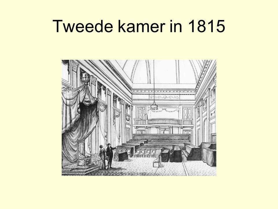 Tweede kamer in 1815