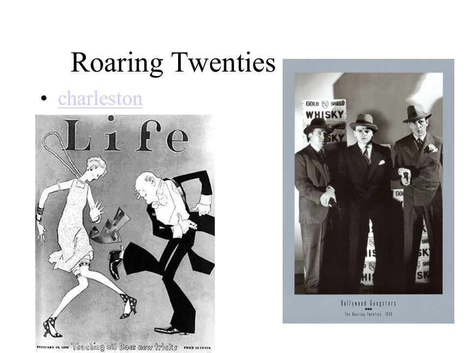 Roaring Twenties charleston