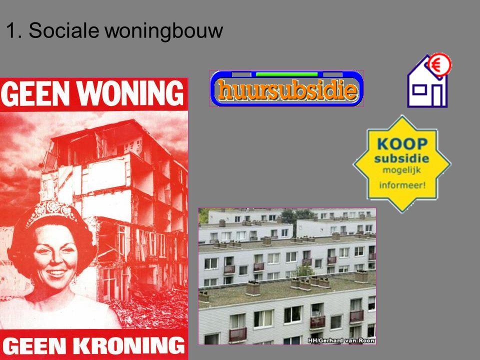 1. Sociale woningbouw