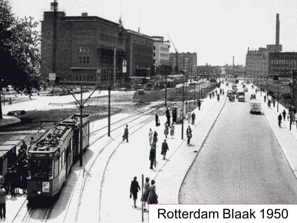 Rotterdam Blaak 1950