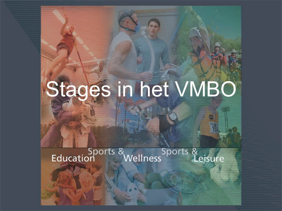 Stages in het VMBO