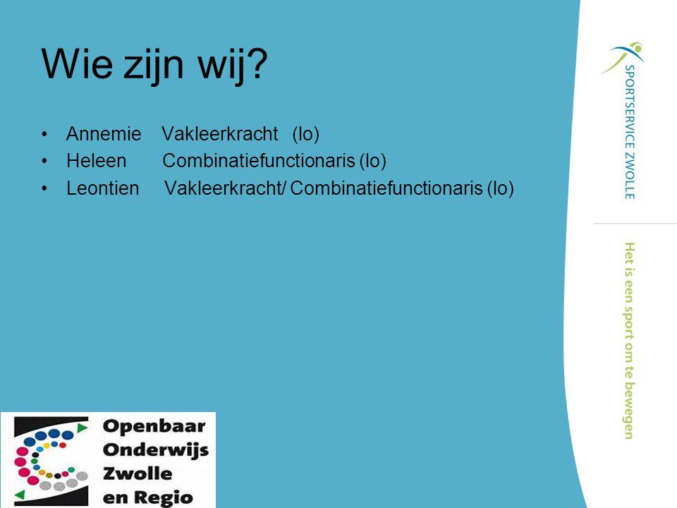 Samenwerking school vereniging vakgroep vakleerkracht Alo's / mbo's Zorg instellingen Wijk/welzijn SportService BSO