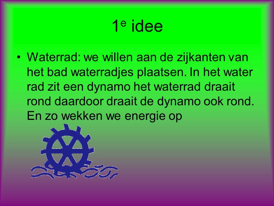 2 e idee Filter: we willen ook een paar filters in het bad plaatsen zodat we hat water 2 of meer keer kunnen her bruiken.