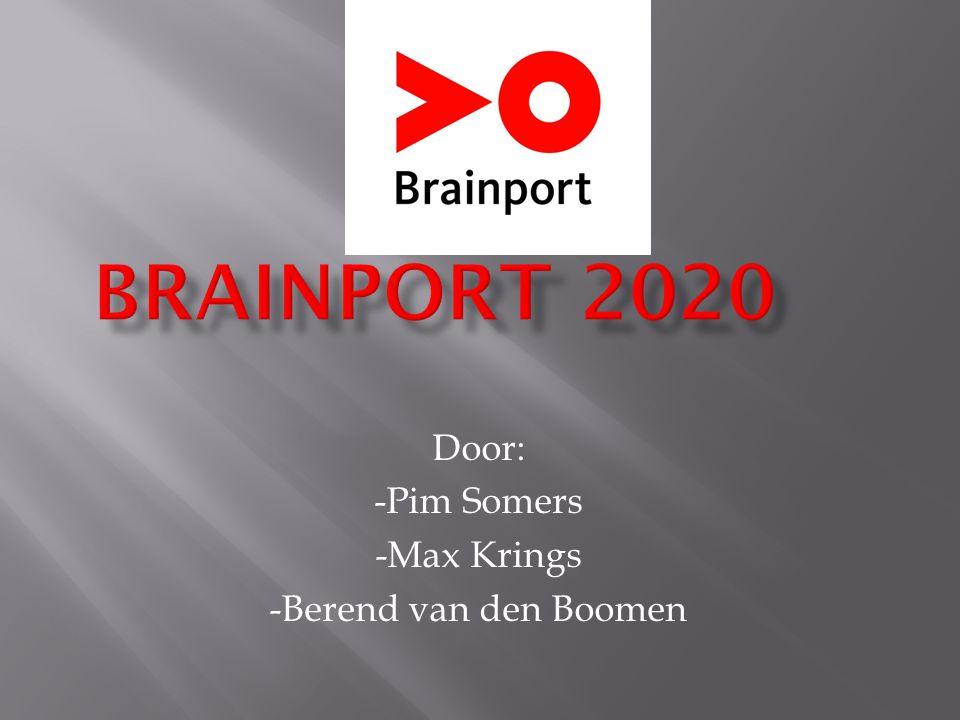 Door: -Pim Somers -Max Krings -Berend van den Boomen