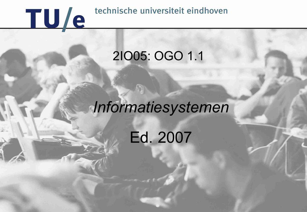 2IO05: OGO 1.1 Informatiesystemen Ed. 2007