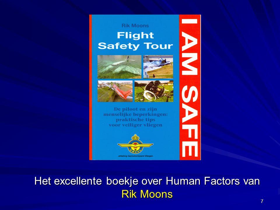 8 Human Factors in de recreatieve luchtvaart A.Ongevallen: Waarom soms wel soms niet .