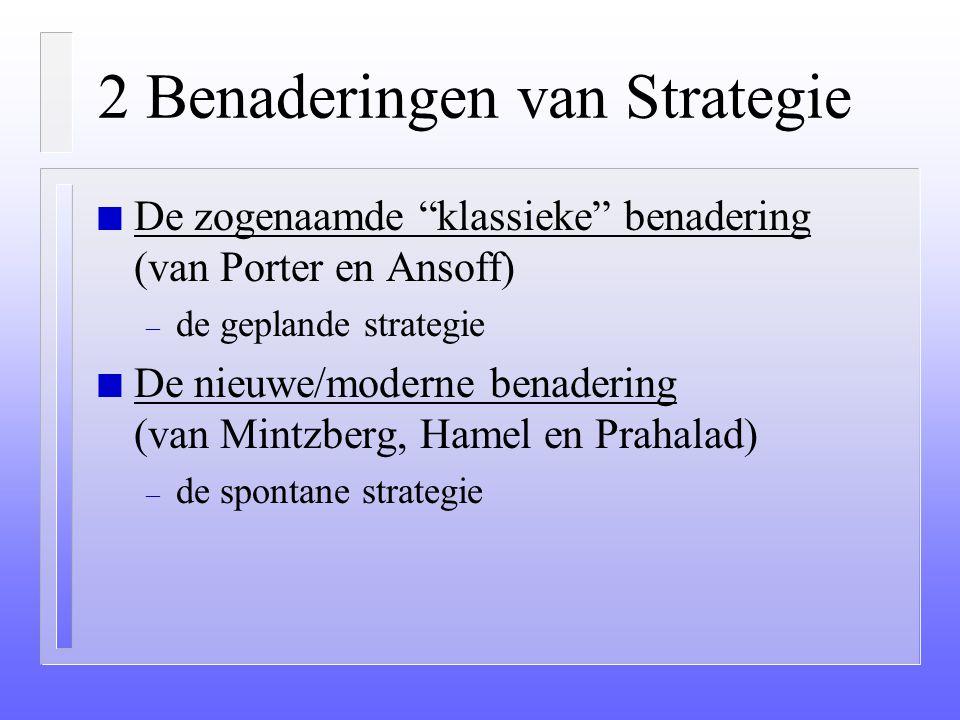 """Strategisch Management Algemeen n """"Strategos"""" (Grieks) De kunst/vaardigheid van de generaal. n Een plan waarin staat aangegeven wat een organisatie wi"""