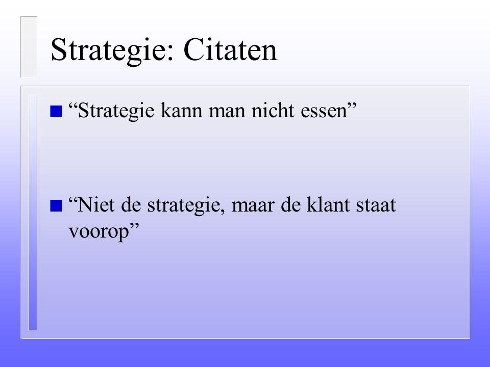 Strategie, beleid en budget: Hoezo? (vervolg) n Die hebben 6 minuten om het te begrijpen en 6 seconden om vragen te stellen. n Is het dan gek dat ze n