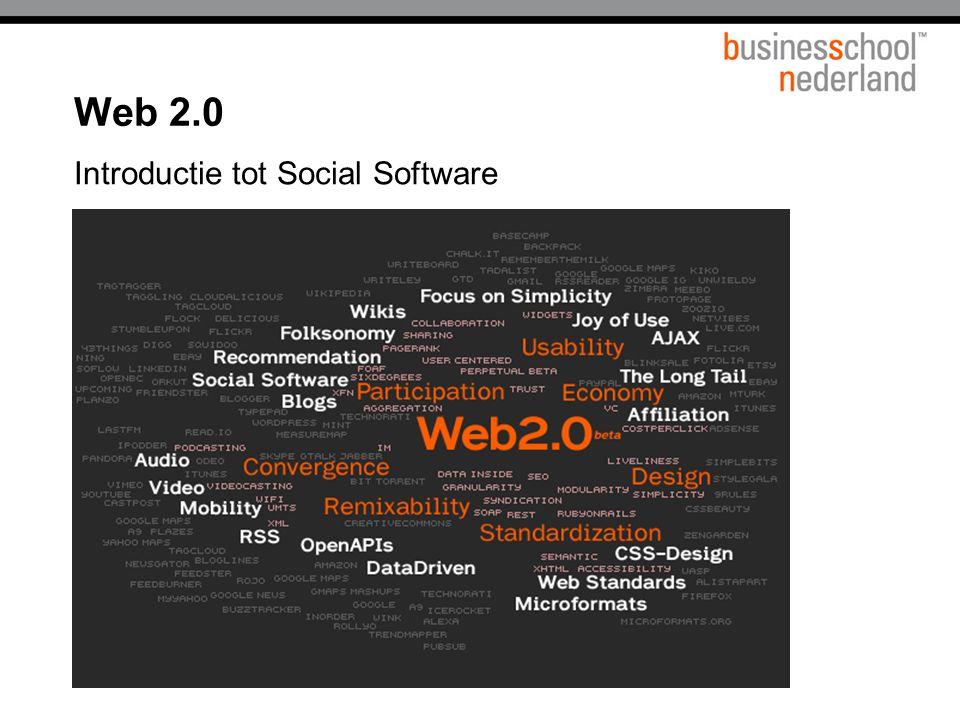 Introductie tot Social Software Web 2.0