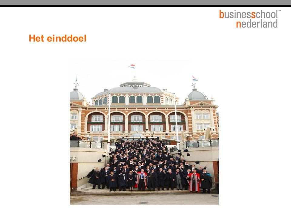 Doel 1e start-up-dag Een beeld krijgen van en nader kennismaken met:  Business School Nederland  medestudenten/subsetgenoten  hun organisaties  de set adviser  Action Learning en Virtual Action Learning  studiemateriaal en werkwijze