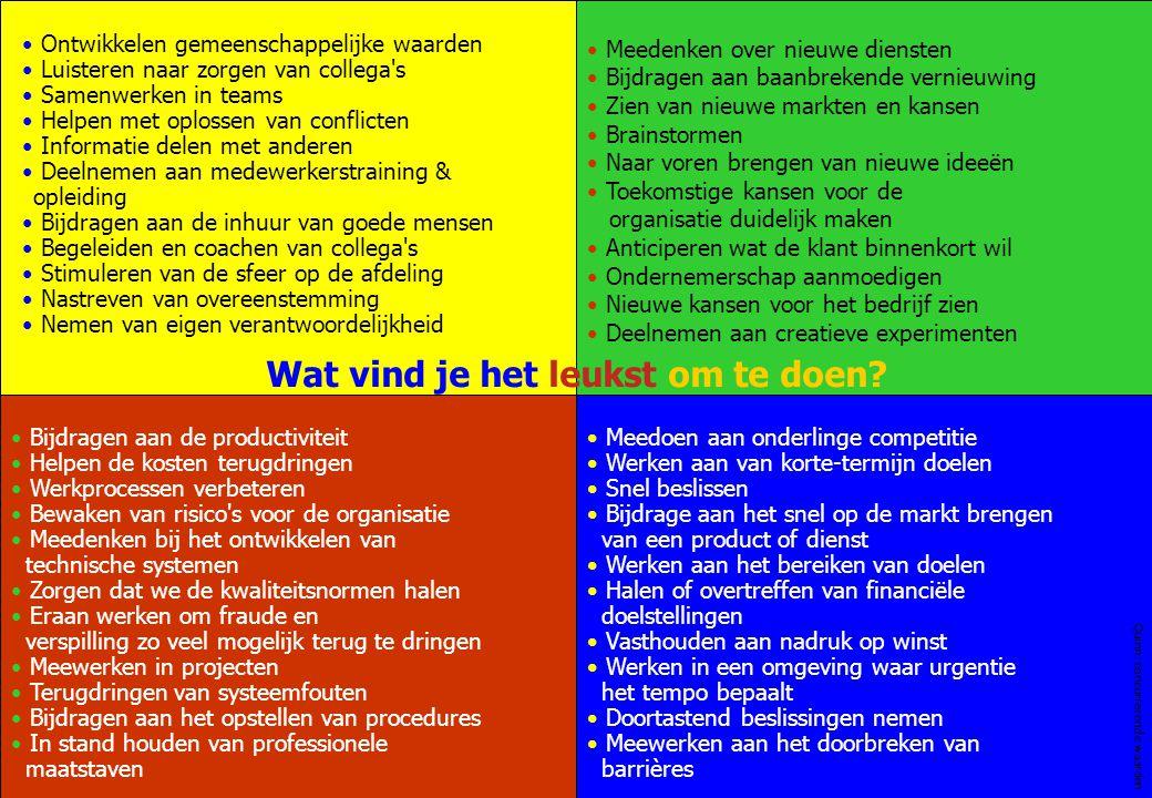 Page 20 www.twanpaes.nl Ontwikkelen gemeenschappelijke waarden Luisteren naar zorgen van collega's Samenwerken in teams Helpen met oplossen van confli