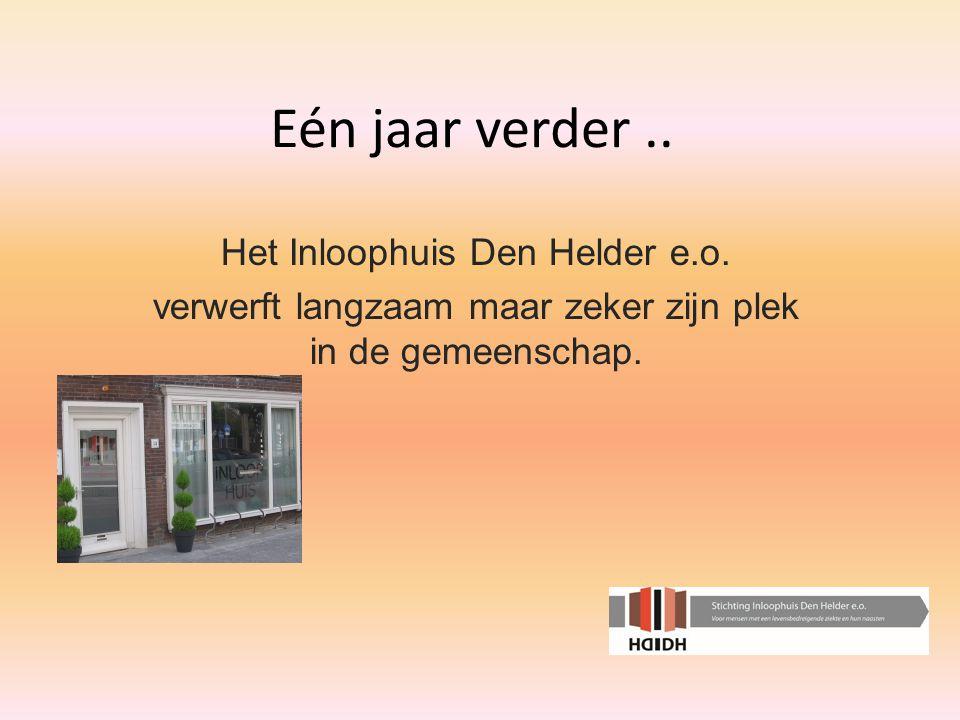 Eén jaar verder.. Het Inloophuis Den Helder e.o.